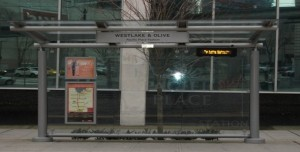 Streetcar Station on McGraw Square
