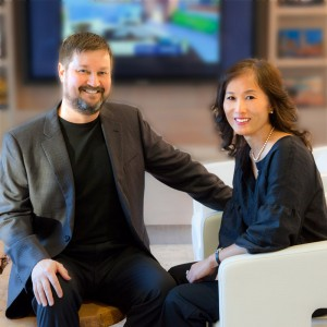 Jim Stroupe and Julie Roh